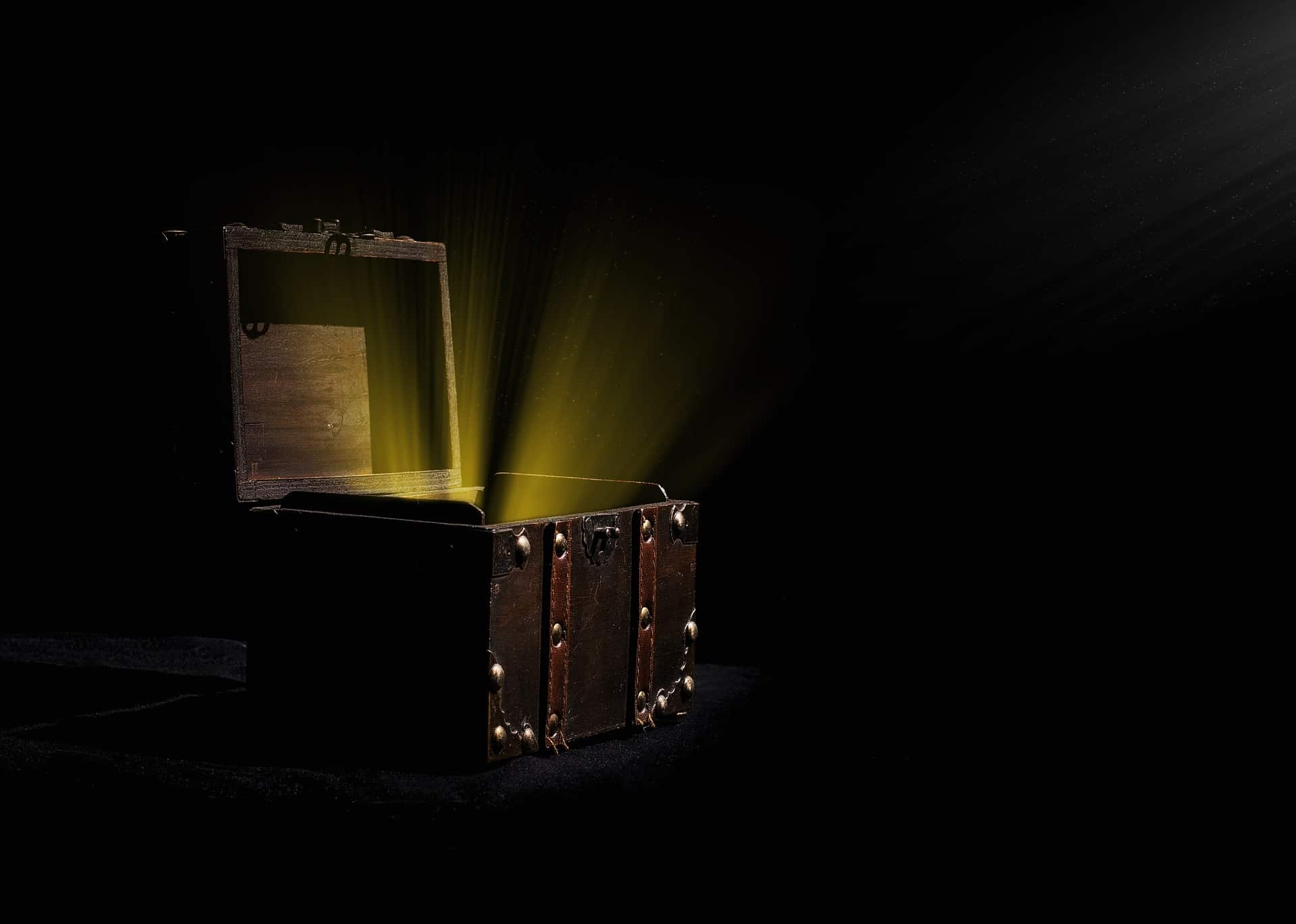 Box Leuchtet Im Dunkeln