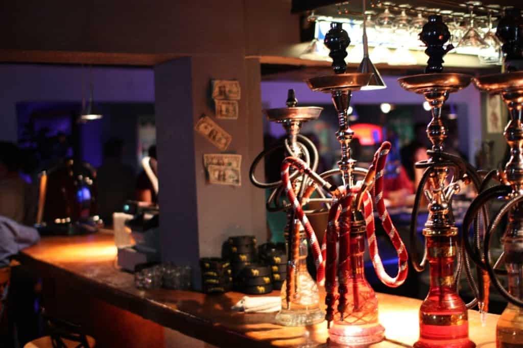 Shishas in Bar