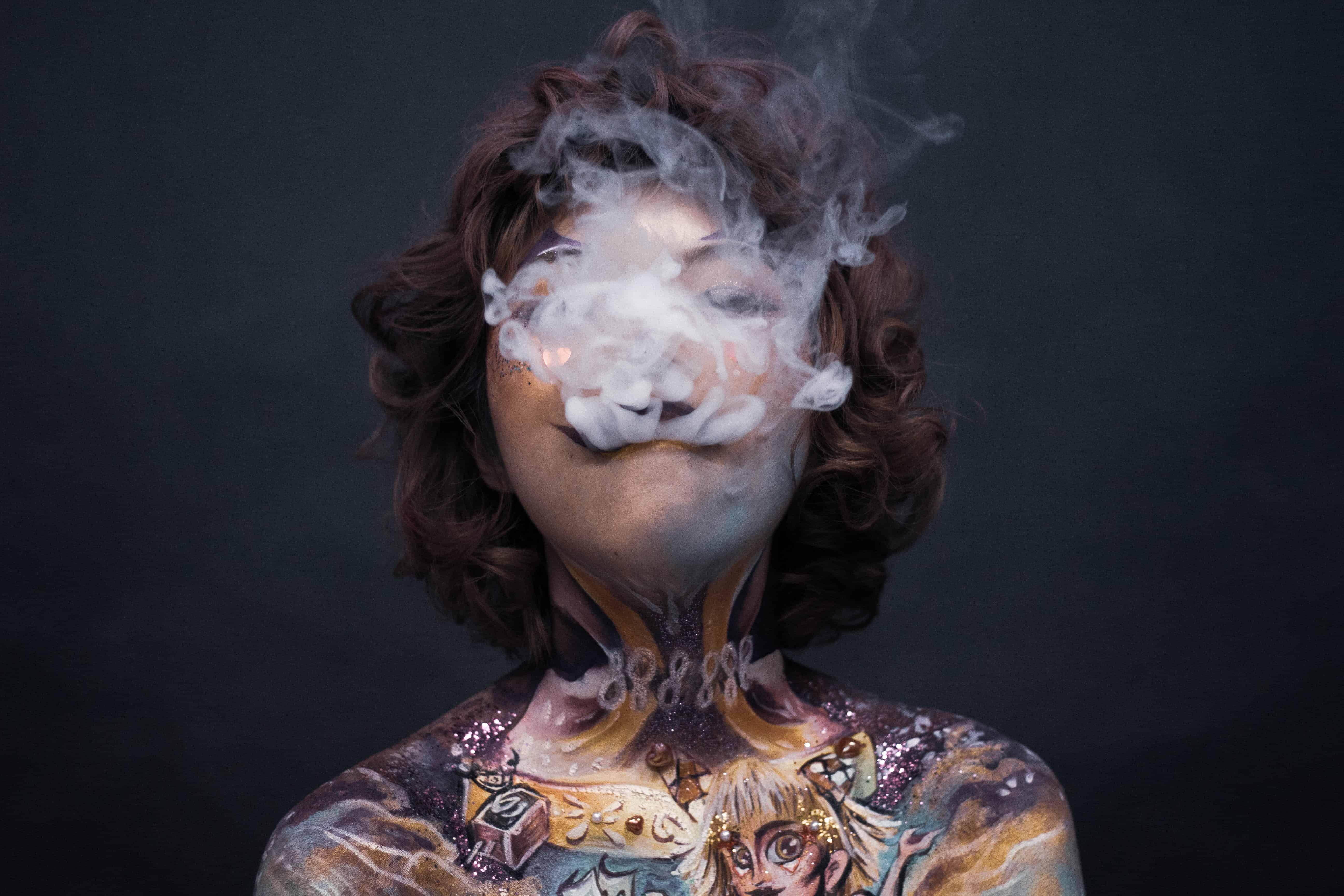 Tattoos und Rauch