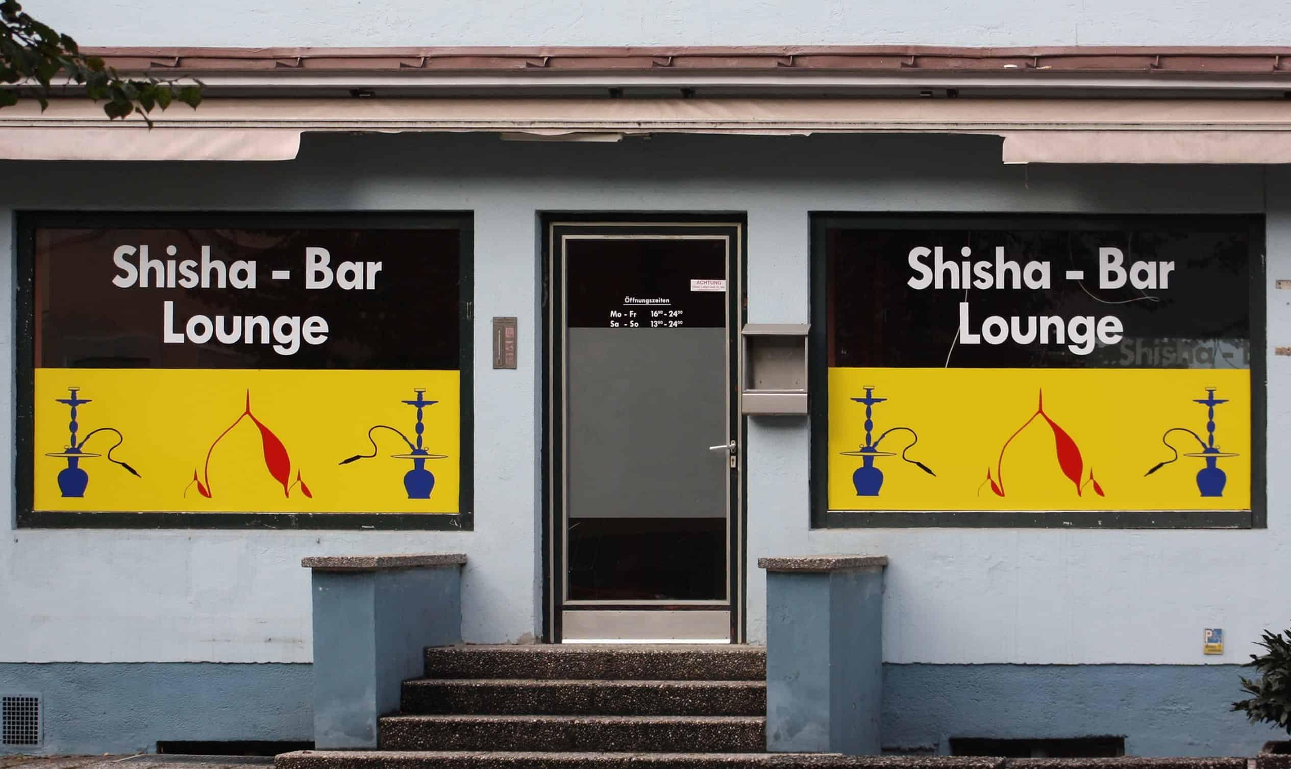 Shisha Bar von Außen