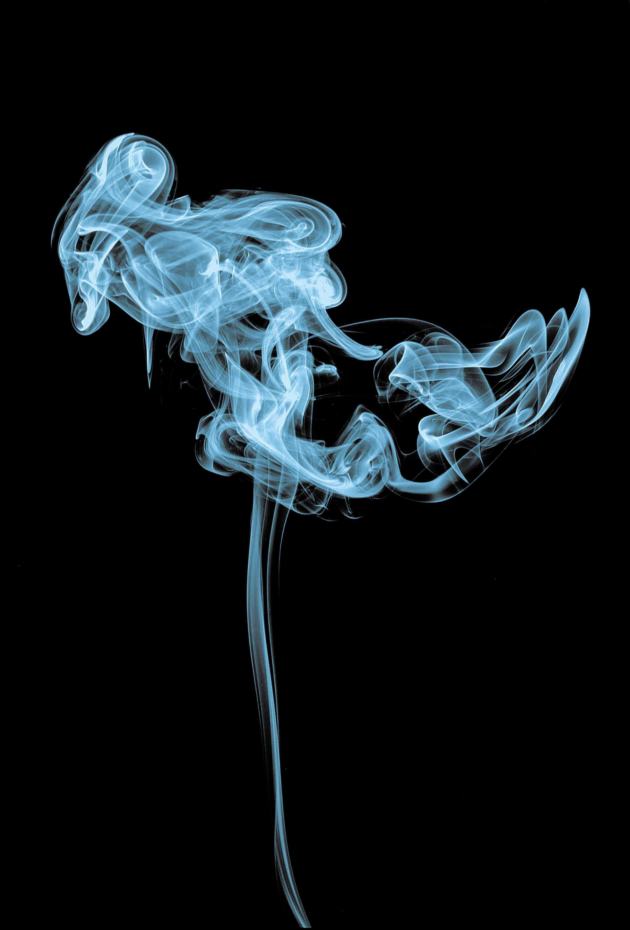 Blauer Rauch Dunkel