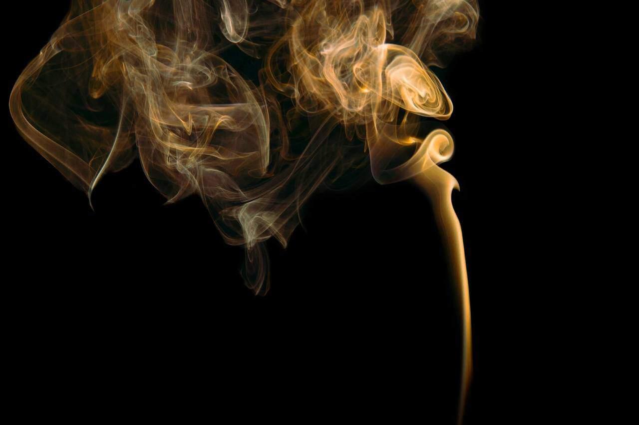 Goldener Rauch