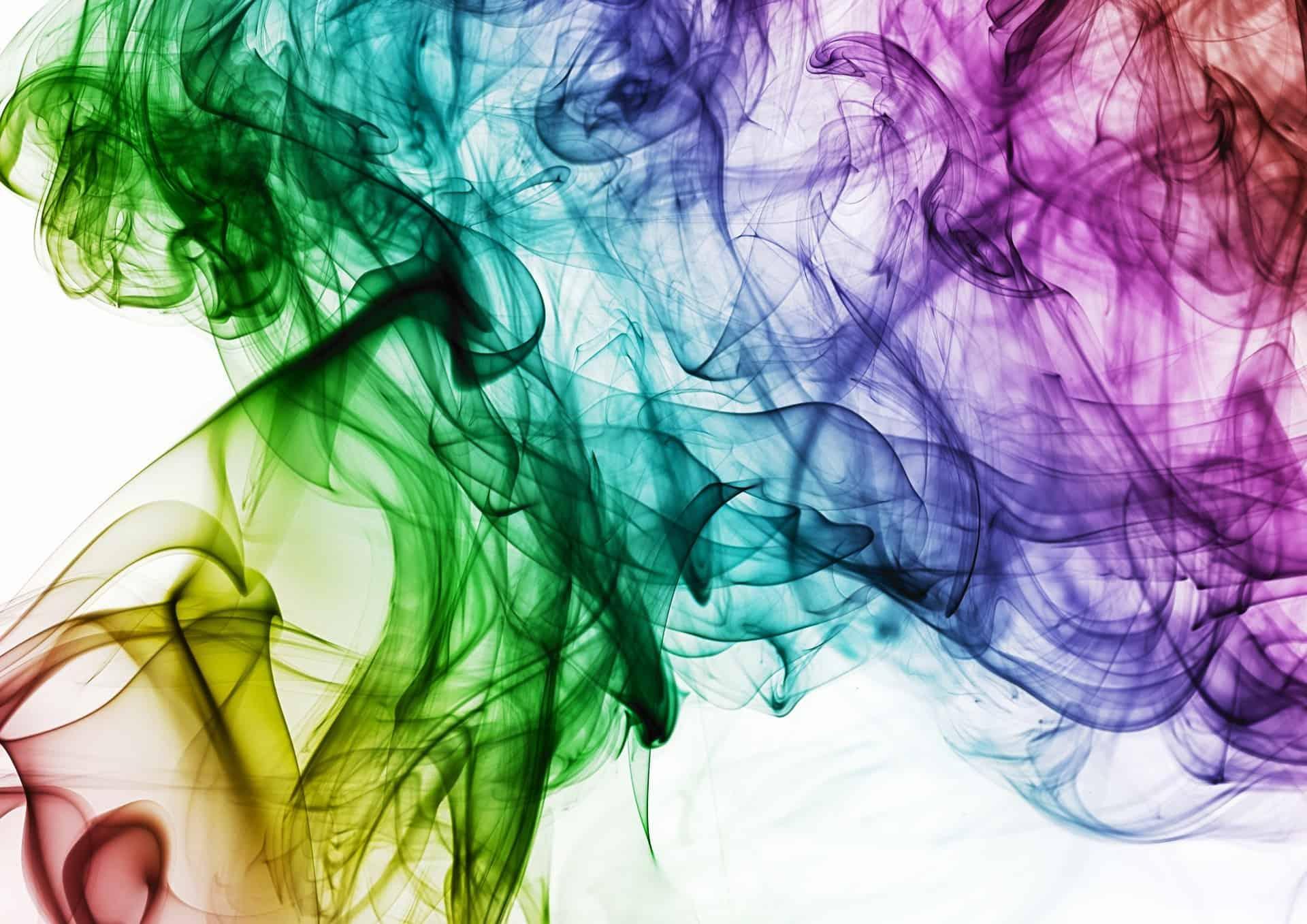 Bunter Rauch Bild