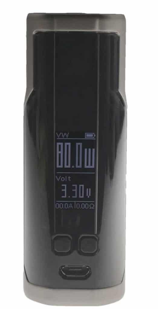 Wismec Sinuous P80 Box MOD - Bester Akkuträger für E-Zigaretten