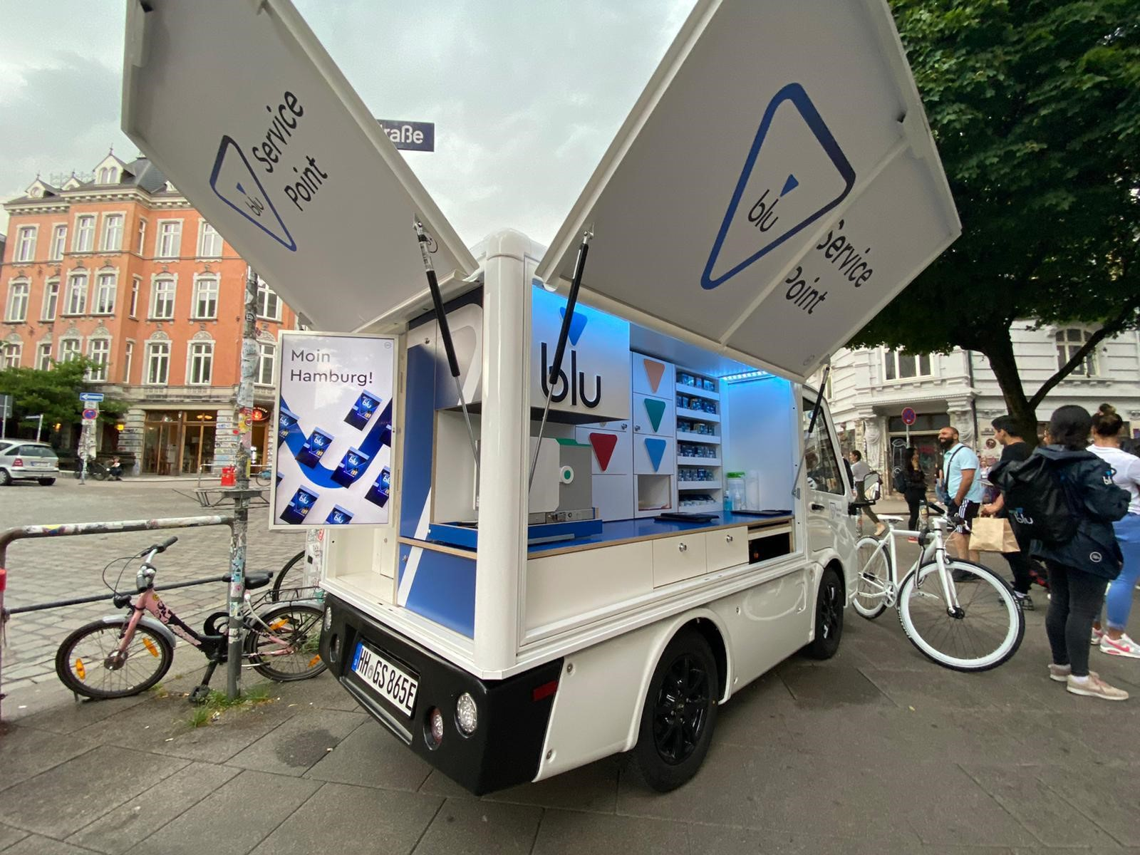 Blu Service Point in Hamburg